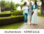 happiness youth friendship... | Shutterstock . vector #439851616