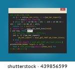program code in development | Shutterstock . vector #439856599