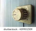 Vintage Old Grimy Thermostat...