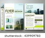 flyers design template vector.... | Shutterstock .eps vector #439909783