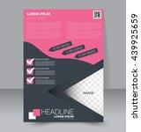 abstract flyer design... | Shutterstock .eps vector #439925659
