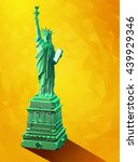 Low Poly 3d Liberty Statue...