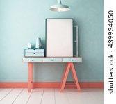 3d illustration interior....   Shutterstock . vector #439934050