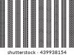 set of ten vector traces of... | Shutterstock .eps vector #439938154