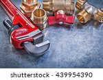 Monkey Wrench Brass Plumbing...