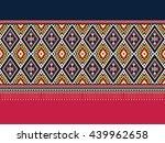 oriental ethnic pattern... | Shutterstock .eps vector #439962658