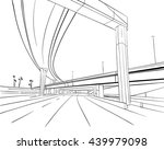 architecture construction.... | Shutterstock .eps vector #439979098