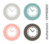 clock watches icon | Shutterstock .eps vector #439980850