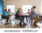education  learning and people...   Shutterstock . vector #439984114