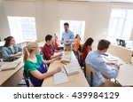 education  school  learning and ... | Shutterstock . vector #439984129