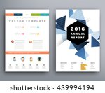 geometric cover background ... | Shutterstock .eps vector #439994194