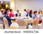abstract blur people in... | Shutterstock . vector #440001736