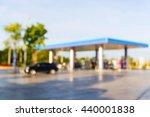 blur gas station  gasoline ... | Shutterstock . vector #440001838