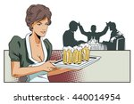 stock illustration. people in... | Shutterstock .eps vector #440014954