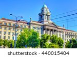 hdr image building a public... | Shutterstock . vector #440015404