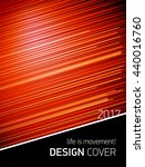 template design cover. life is... | Shutterstock .eps vector #440016760