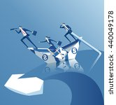 business concept of risk ... | Shutterstock .eps vector #440049178