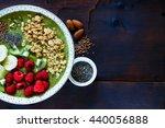 close up of green detox... | Shutterstock . vector #440056888