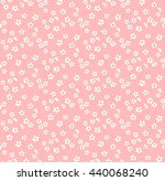 cute pattern in small flower.... | Shutterstock .eps vector #440068240