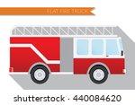 flat design illustration city... | Shutterstock . vector #440084620