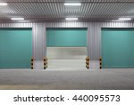 roller shutter door and... | Shutterstock . vector #440095573