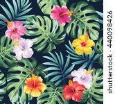 tropical seamless pattern with...   Shutterstock .eps vector #440098426