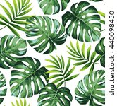 tropical seamless pattern with... | Shutterstock .eps vector #440098450