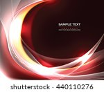 abstract shiny background. red... | Shutterstock .eps vector #440110276