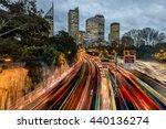 Sydney Rush Hour Freeway...