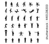 football soccer symbols | Shutterstock .eps vector #440138203