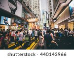 causeway bay  hong kong   june... | Shutterstock . vector #440143966