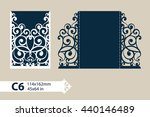 the layout of the cards in... | Shutterstock .eps vector #440146489