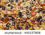 pizza | Shutterstock . vector #440157808