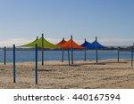 bright sun shades on koombaba... | Shutterstock . vector #440167594