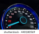 close up of speedometer car ... | Shutterstock . vector #440180569