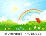 vector cartoon illustration of... | Shutterstock .eps vector #440187133