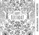 Hand Drawn Birthday Card Desig...