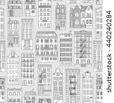 seamless pattern with little... | Shutterstock .eps vector #440240284