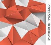 polygon background. polygon... | Shutterstock .eps vector #440242330