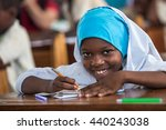 editorial use  girl at school... | Shutterstock . vector #440243038