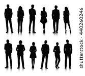 vector ui illustration business ... | Shutterstock .eps vector #440260246
