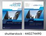 business brochure flyer design...   Shutterstock .eps vector #440274490