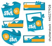 water sport and recreation... | Shutterstock .eps vector #440277928