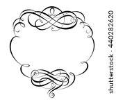 calligraphy ornamental... | Shutterstock .eps vector #440282620