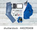 casual and stylish clothing... | Shutterstock . vector #440290408