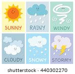 the weather card for children