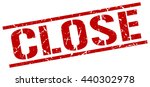 close stamp.stamp.sign.close. | Shutterstock .eps vector #440302978