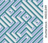 abstract geometric maze... | Shutterstock . vector #44031349