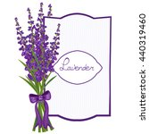 watercolor card with a picture...   Shutterstock .eps vector #440319460
