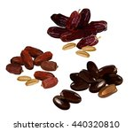 dried fruits. vector... | Shutterstock .eps vector #440320810